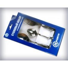 """Набор столовых приборов 36 предметов Упаковка из картона Модель М-3 """"Тройка"""""""