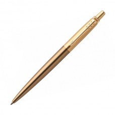 Ручка шариковая Parker Jotter Luxe K177 (1953203) West End Gold M синие чернила подар.кор.