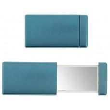 Зеркало прямоугольное двойное под нанесение, цвет синий
