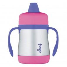 Поильник с ручками Thermos Foogo Phases №1 BS500 розовый (0.2 литра)